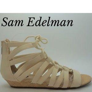 Sam Edelman Circus Alba  Lace Up Gladiator Sandals
